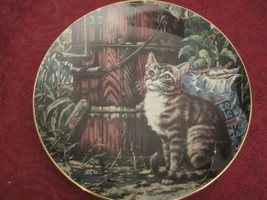 Sunday Afternoon Collector Plate Lowell Davis Schmid Rare Friends Of Mine Cats - $39.20
