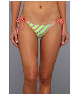 L*Space Oooh La La Full Cut Bottom String Bikini Size Medium MSRP $74.80  - $18.69