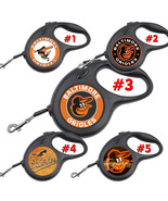 Baltimore Orioles Retractable Dog Leash tangle free upto 110 lb pet leas... - $22.30+