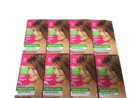 8 Clairol 54 Herbal Color Me Vibrant Amber Shimmer Permanent Hair Dye - $85.99