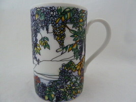 Dunoon Scotland Tiffany Mug by Helen Sandiford Stained Glass Windows Sto... - $13.85