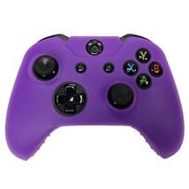 Xbox ONE © Controller pelle viola custodia Silicone cotura Gel protettiv... - $7.73