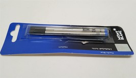 "Montblanc Blue Rollerball Pen Refill Medium 2 Pack 107878 ""OPEN BOX"" - $12.99"