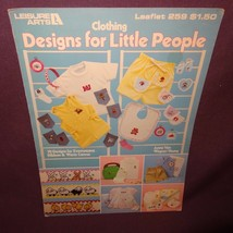 Designs for Little People Clothing Cross Stitch Pattern Booklet 259 1983 Kids - $7.99