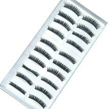 LOT of 100 pairs Daily Normal Makeup False EyeLashes A1 - $24.49