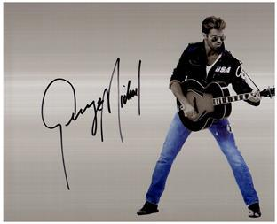 Primary image for GEORGE MICHAEL  Authentic Original 8x10 SIGNED AUTOGRAPHED PHOTO w/ COA 38032