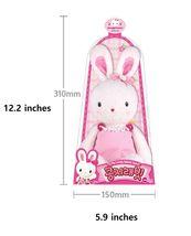 Konggi Rabbit Soft Plush Stuffed Animal Rabbit Attachment Doll Toy 13 inches image 5