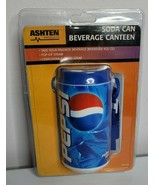 PEPSI Soda Can Beverage Canteen NEW Carry Strap Drink Cup Container with... - $14.99