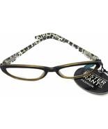 Foster Grant Women's Clementine Cat-eye Leopard Print Reading Glasses +2.00 - $6.00