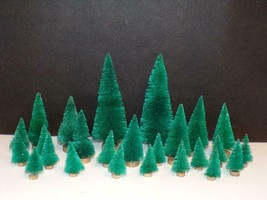 FOR YOUR DEPT 56 /LEMAX VILLAGE - 25-NO NAME TREES MINT - $15.84