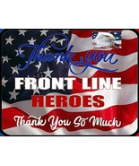 Thank You Front Line Heroes Thank You So Much 19 Corona Sign SP3624 - $9.85