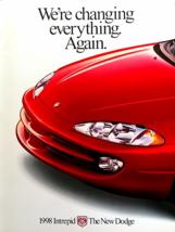 1998 Dodge INTREPID sales brochure catalog US 98 ES - $8.00