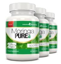 Moringa Pure Capsules 500mg 180 Capsules - $70.19