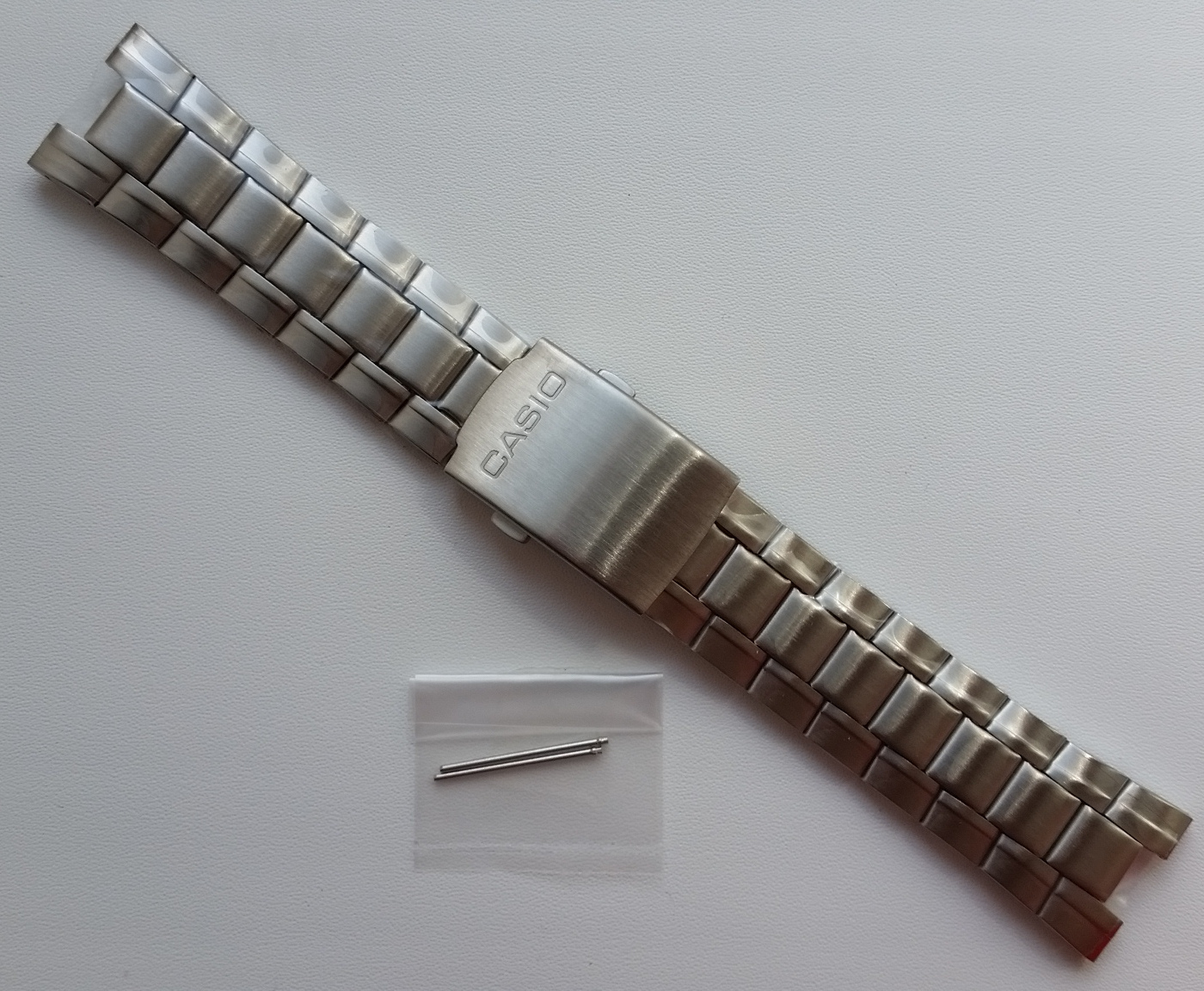 Primary image for Genuine Replacement Watch Band 20mm Stainless Steel Bracelet Casio EF-305D-1A