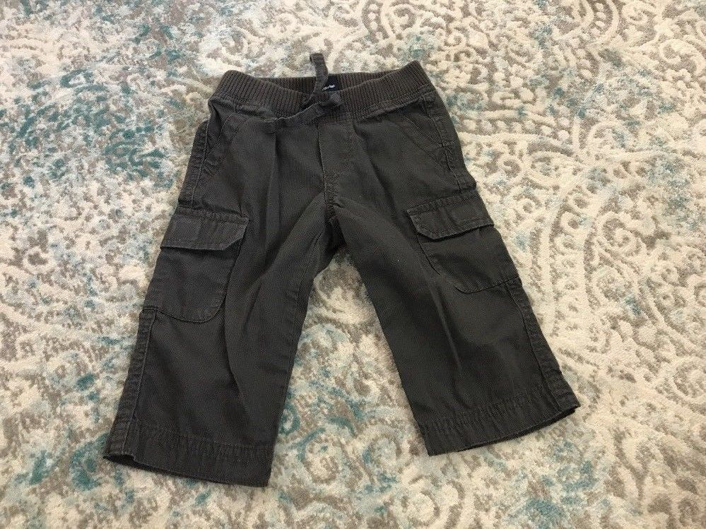 81d20284 Baby Gap Baby Boy Cargo Pants - Gray Size and 50 similar items