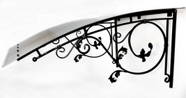 Hand Made Custom Awning For Door Or Window Made To Size W49-54 X L37-43 - $494.99
