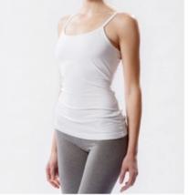 Hard Tail long cami White W586 (Medium) - $41.58