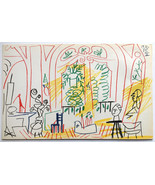 Pablo Picasso Mourlot Frères Color Offset Lithograph Ltd Ed Only 500 imp... - $594.00