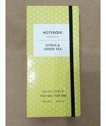 Notebook Citrus & Green Tea by Selectiva SPA Eau De Toilette Spray (Unis... - $13.86