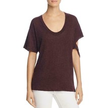 IRO. Jeans Womens Purple Destroyed Heathered T-Shirt Top S - $145.99