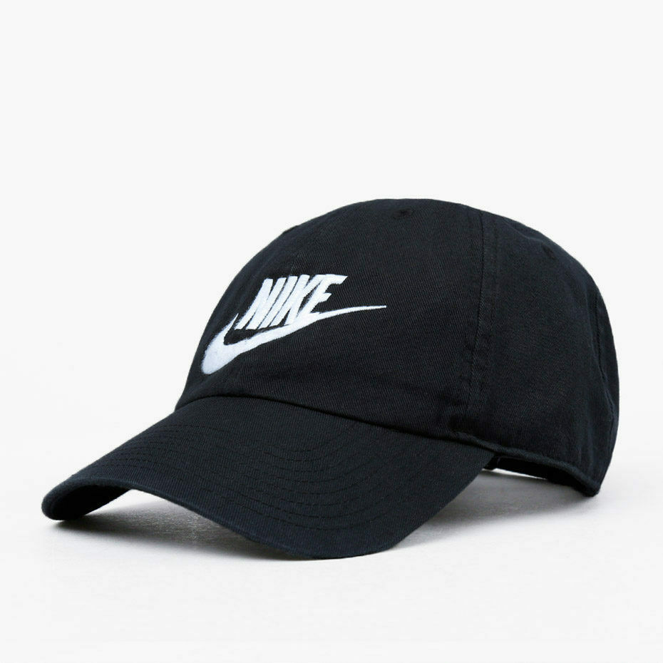 9e9fb85127ffc Nike Cap Black Heritage 86 Cotton Adults One and 50 similar items