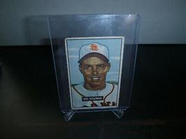 1951 Bowman Gum Baseball Card #136 Ray Coleman Trading Card Good Condition - $8.90