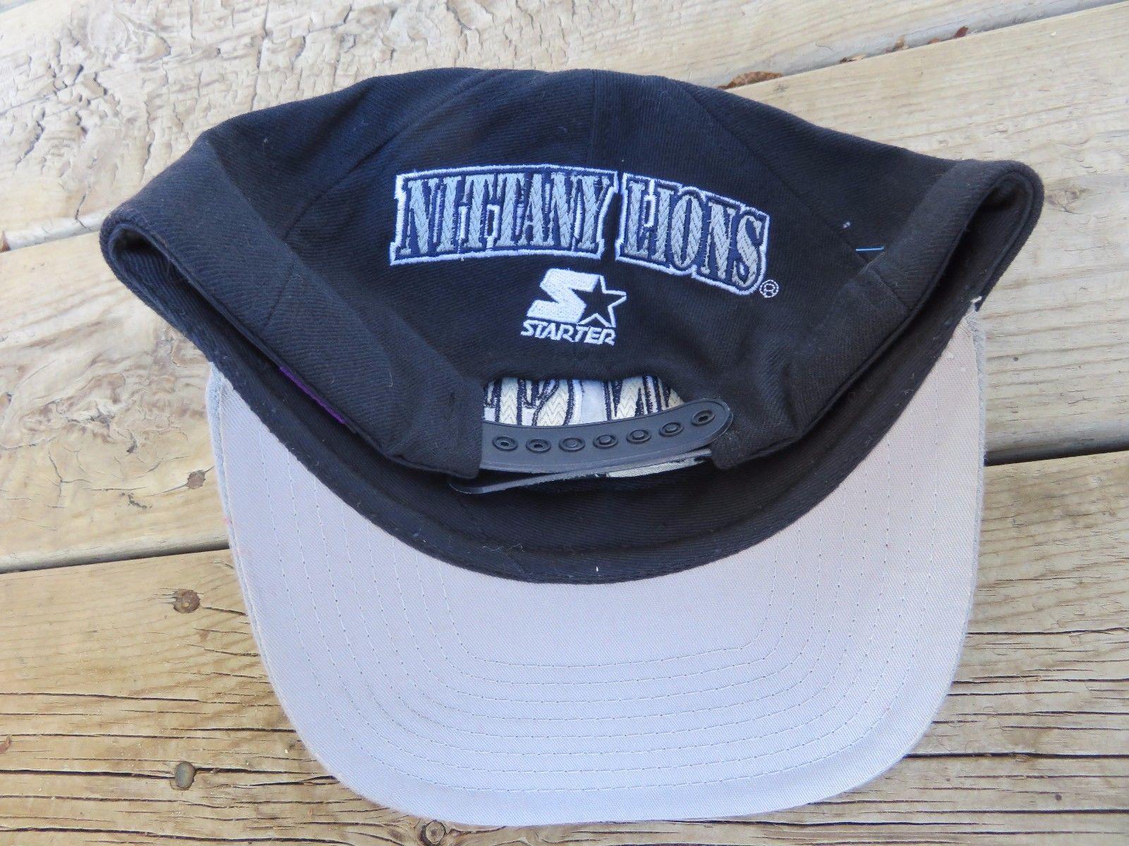 online store 88f1b c8955 Vintaeg NCAA Starter Penn State Nittany Lions Football Embroidered Snapback  Hat