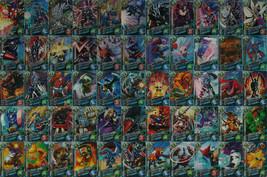 Bandai Digimon Fusion Xros Wars Data Carddass V2 Card Full Set of 55 - $299.99