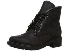 Carlos by Carlos Santana Women Biker Boots Simone Size US 9.5M Black - $64.94
