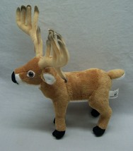 "Wildlife Artists NICE MALE BUCK DEER 10"" Plush STUFFED ANIMAL Toy - $19.80"