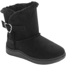 Garanimals Baby Toddler Girls Black Faux Fur Heart Buckle Shearling Boot... - £5.99 GBP