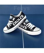 eagles shoe women sneakers mens fashion eagles tennis shoe custom birthd... - $54.89+