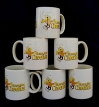 SET OF 6 NEW Ceramic Honey Nut Cheerios Cereal Coffee Mugs Novelty Cup B... - $64.35
