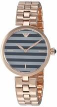 Emporio Armani Ladies Rose Gold Watch on Bracelet AR11220 - $153.80