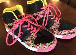 Tops Pink C Shoes N SHAQ Basketball US O'Neil 6 Size E I amp;Black Girls High wwqf8Xxa