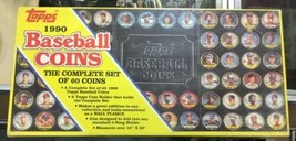 1990 Topps Baseball 60 Coin Complete Set New In Box - $29.39