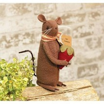 """farmhouse primitive country rustic fabric Fresh Strawberries MOUSE 6.5"""" ... - $34.99"""
