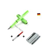 Lamy Safari Green Fountain Pen F Nib with Free Converter + 5 black T10 ink - $24.23