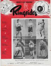 Ringsider Great Britain Boxing Magazine April 1949 Volume 4 No 4 Dick Tu... - $22.00