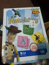 Memory Match Game Disney TOY STORY 4 - 72 Cards Educational Learning - New - $15.83