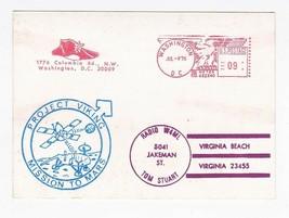 PROJECT VIKING MISSION TO MARS METER CANCEL WASHINGTON DC 7/4/76 ON RADI... - $2.68