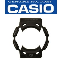 Genuine CASIO G-SHOCK Watch Band Bezel Shell GW-9110-1 Black Rubber Cover - $25.95