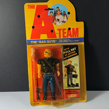 1983 Galoob A-TEAM Action Figure Vintage Moc The Bad Guys Python Big Bald Angry - $173.25