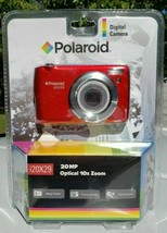 Polaroid i20X29 20MP 10x Optical Zoom Digital Camera (Red) New! Free Shi... - $28.75