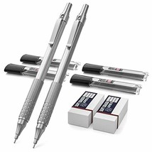 Mechanical Pencils Set, Metal Automatic Drafting Pencil 0.5 mm nd 0.7 mm... - $16.28