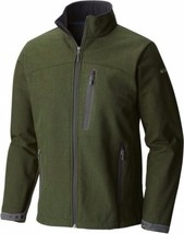 Columbia Men's LUCKY FIND II Softshell Jacket SIZE LARGE L NEW NWT GREEN... - $79.43