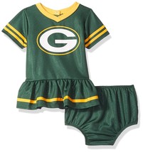 NFL Green Bay Packers Infant Dazzle Dress & Panty Size 6-12 Month Youth ... - $23.93