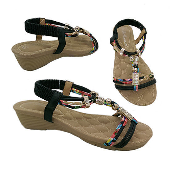 b2594e334fbe Girls Sandals Bellissimo Cindy Black and and 50 similar items