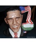 President Barack Obama Royal Doulton Character Toby Jug D7300 With Box -... - $620.79