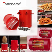 2 in 1 Fries Potatoes Maker Slicer Cutter Machine Microwave Container Fr... - €17,76 EUR